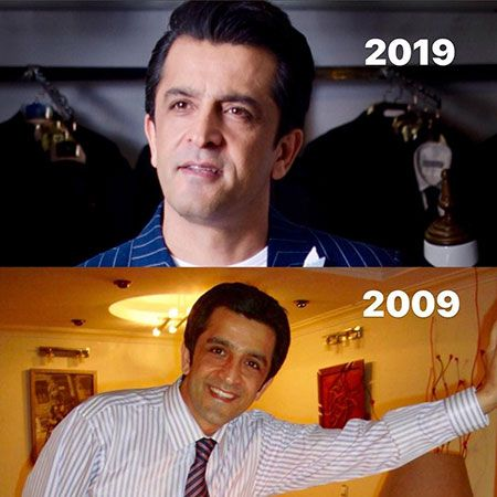 چالش عکس 10 سال پیش از چهره های مشهور | از هانیه توسلی تا رضا صادقی