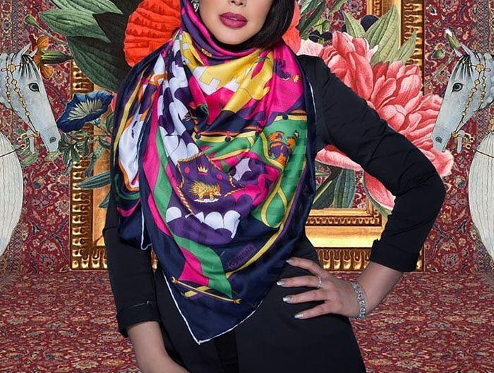 مدل بستن روسری برای عید 98