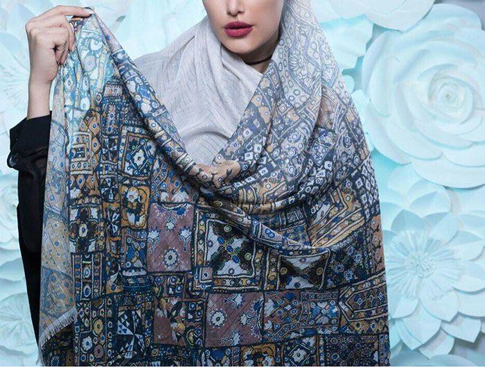 مدل شال و روسری عید نوروز 1399 + معرفی ترندهای شال و روسری سال 99