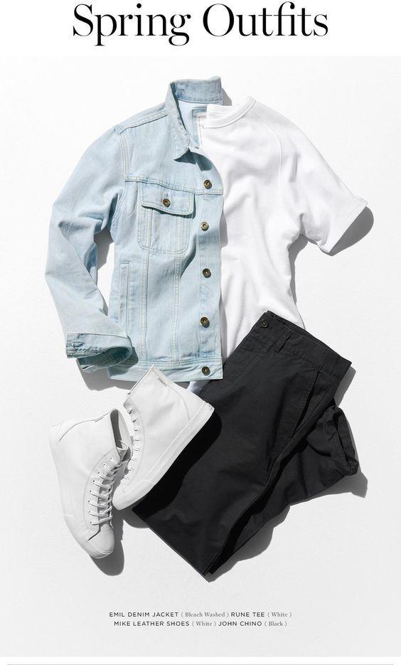 مدل پیراهن 2019 جین مردانه 98 + راهنمای ست کردن و انتخاب لباس جین مردانه 1398