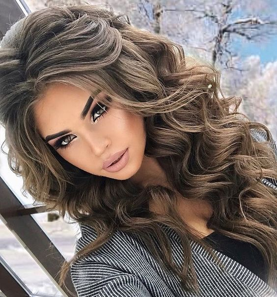 مدل مو زنانه و دخترانه برای زمستان | مدل مو زمستانی زنانه و دخترانه