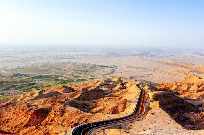 زیباترین جاده های جهان در کدام کشورها هستند | از امارات تا فلوریدا