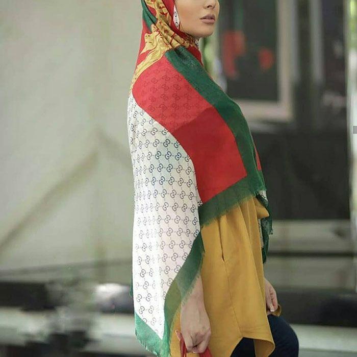 مدل شال و روسری عید نوروز 1398 + معرفی ترندهای شال و روسری سال 98