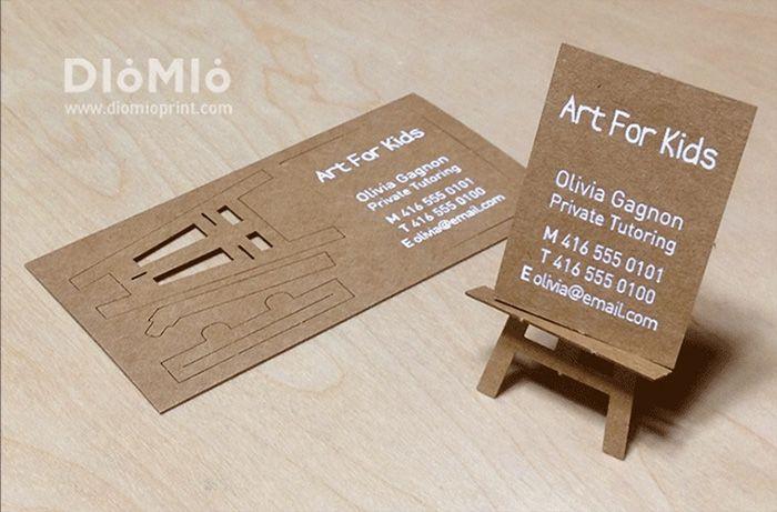 طراحی کارت ویزیت | ایده های خلاقانه در طراحی بیزینس کارت