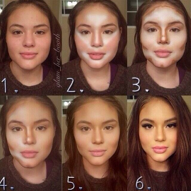 قدرت آرایش زنانه | تغییر چهره به سبک خانم ها | powerofmakeup#