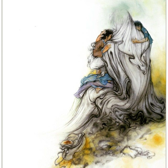 عکس پروفایل حضرت علی (ع) + زیباترین جملات از امیر المومنین