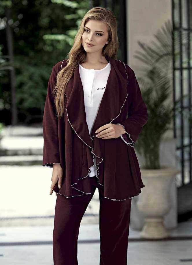 مدل لباس راحتی زنانه ترک 98 | مدل لباس 2019 تو خونه ای شیک زنانه 1398