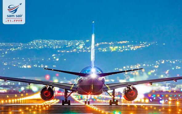 چک چارتر لحظه آخری بلیط خارجی و پرواز داخلی در یک دقیقه