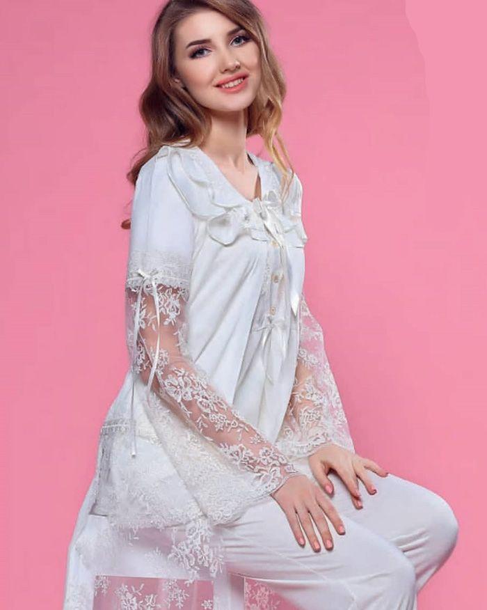 مدل لباس راحتی زنانه ترک 99 | مدل لباس 2020 تو خونه ای شیک زنانه 1399
