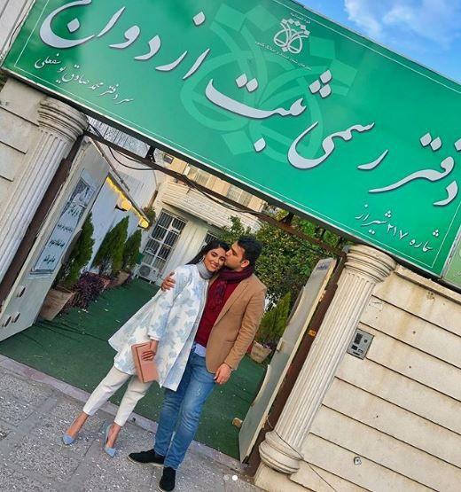 رامینا ترابی ازدواج کرد | مدل مشهور ایرانی خبر ازدواج اش را منتشر کرد