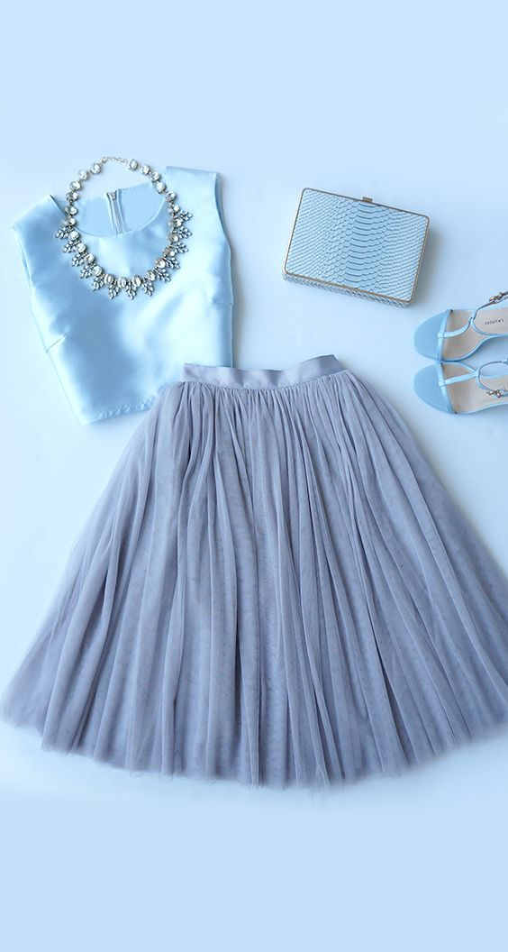 نیم تنه و دامن مجلسی | شیک ترین ست لباس نیم تنه و دامن + راهنمای ست کردن