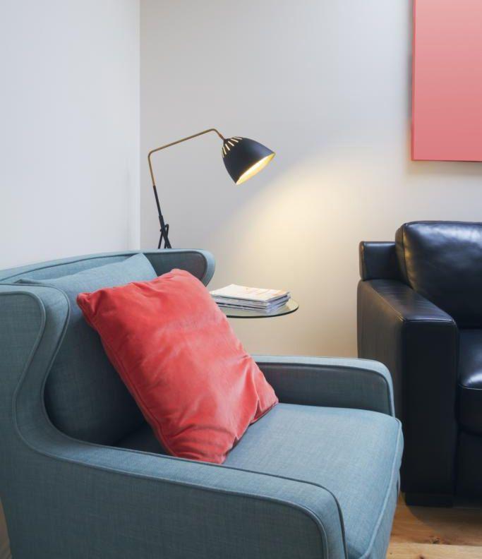استفاده از رنگ سال 2019 در دکوراسیون منزل | خانه ای با رنگ مرجانی