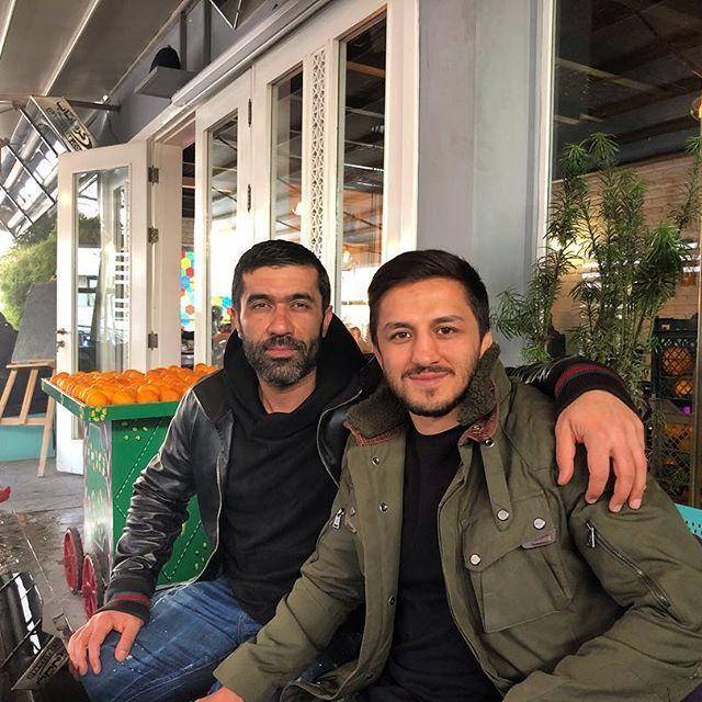 بیوگرافی حمید سوریان و همسرش | نابغه ورزش کشتی در ایران زمین + عکس حمید سوریان