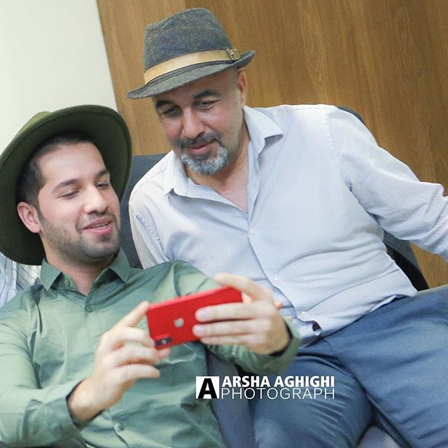 بیوگرافی محمد امین کریم پور و همسرش + مصاحبه و اینستاگرام + عکس های محمد امین کریم پور