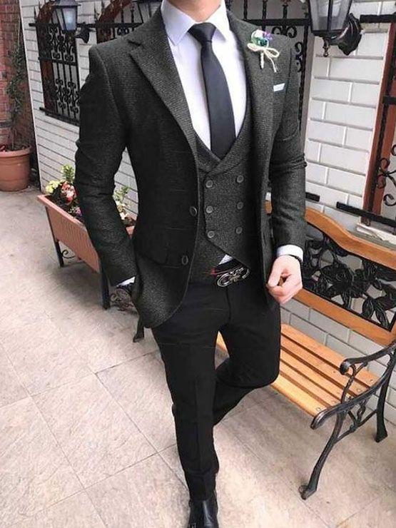مدل لباس مردانه برای لاغر اندام ها | انواع مدل های اسپرت و رسمی + راهنمای ست کردن