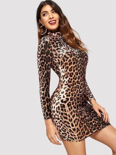 لباس مجلسی پلنگی ۲۰۲۱ | بهترین مدل ها و ست های پلنگی زنانه ۹۹