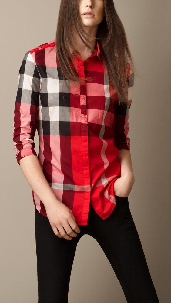 پیراهن چهارخانه زنانه و دخترانه   بهترین مدل های لباس زنانه + راهنمای ست کردن