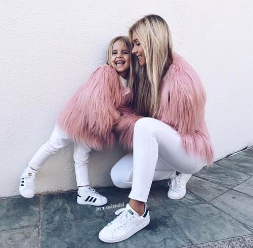 لباس ست مادر و دختر مد 2019 | مدل لباس مادر دختری 98 + راهنمای ست کردن