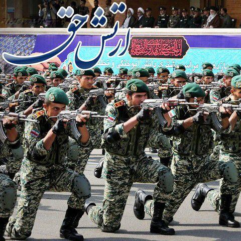 عکس هایی از روز ارتش