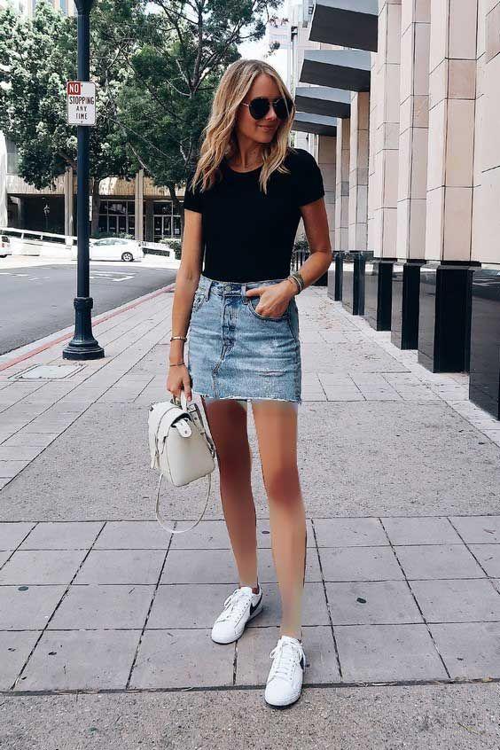 ست کردن کفش اسپرت با لباس زنانه   مدل ها و نکات کاربردی برای ست لباس و کفش