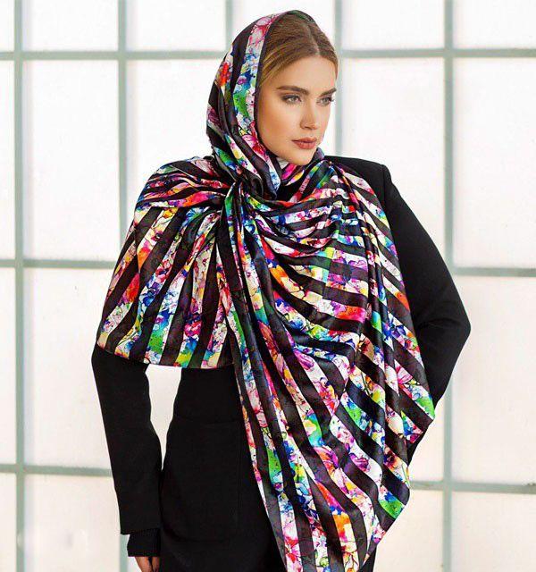 مدل شال و روسری تابستانی ۱۴۰۰ + راهنمای انتخاب و ست کردن