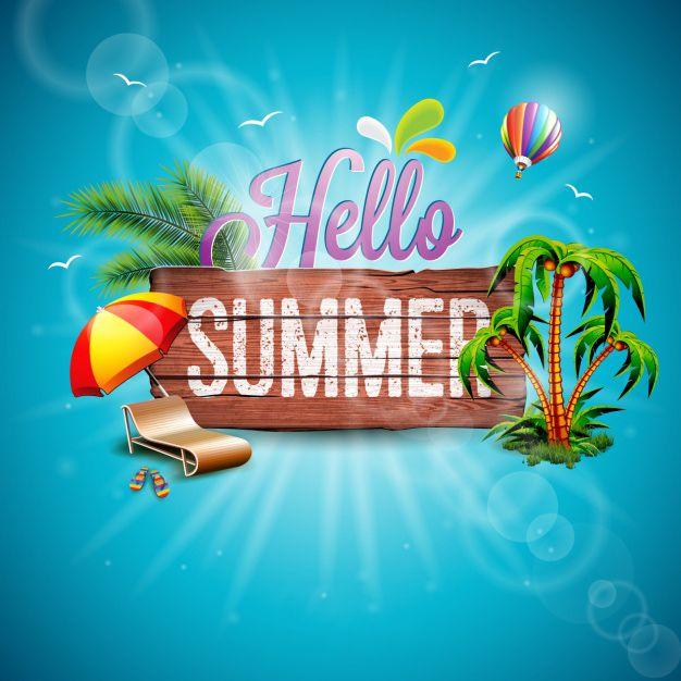 30 عکس نوشته تابستانی + متن های زیبا در مورد فصل تابستان