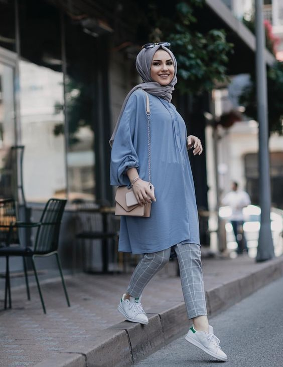 تیپ با حجاب دخترانه و زنانه | چگونه باحجاب و خوشتیپ باشیم؟ مدل مانتو باحجاب