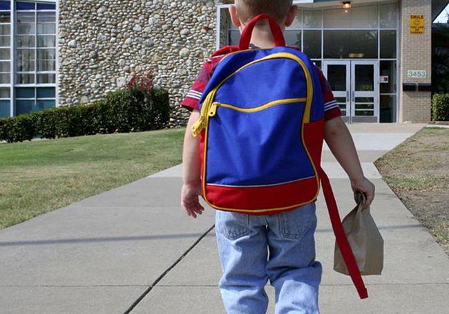 نحوه صحیح حمل و استفاده از کوله پشتی مدرسه برای کودکان و نوجوانان
