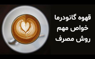 آشنایی با خواص قهوه گانودرما + روش تهیه و مصرف