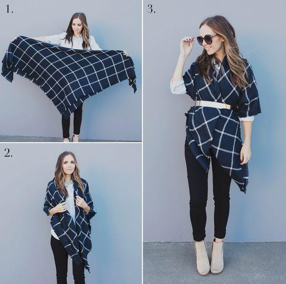 ۲۵ مدل لباس چهارخانه دخترانه و زنانه پاییزی + راهنمای خرید و ست کردن