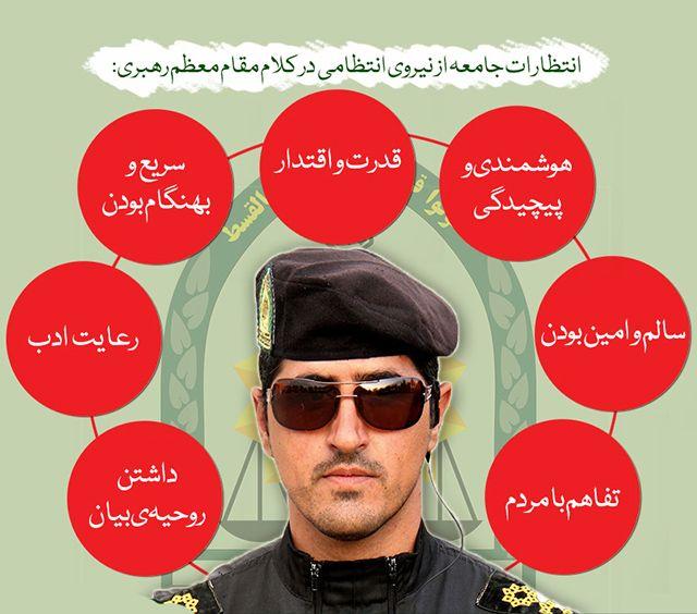 عکس پروفایل هفته نیروی انتظامی + متن های تشکر از نیروی انتظامی