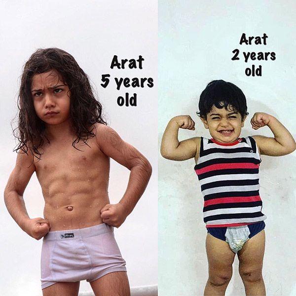 بیوگرافی آرات حسینی ستاره آینده دار ایرانی + عکس های آرات حسینی و اینستاگرام