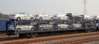 حمل خودرو با قطار! امکان نسبتا جدید حمل و نقل ریلی کشور