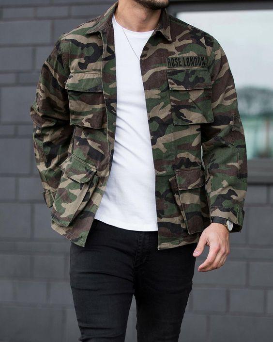 25 مدل لباس ارتشی مردانه