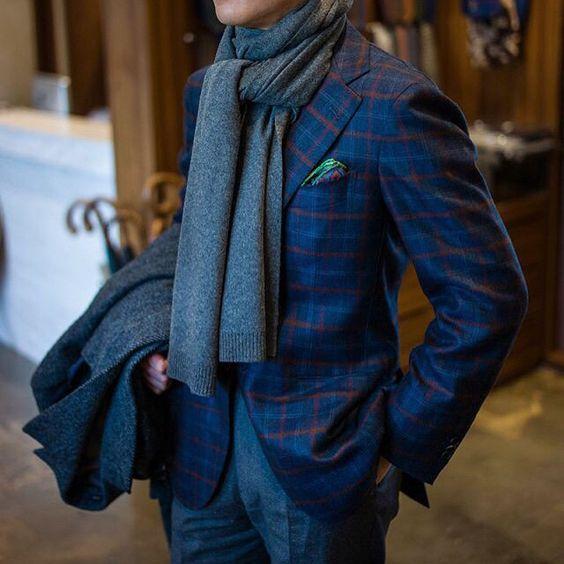 25 مدل شال گردن مردانه | جدیدترین مدل ها + راهنمای انتخاب شال گردن
