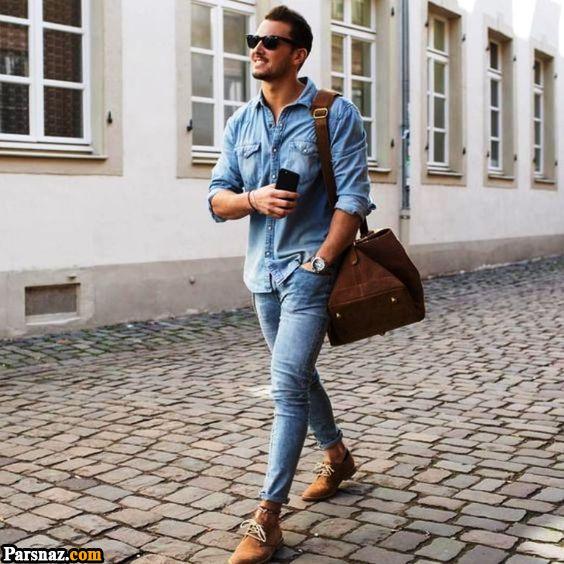 مدل لباس مردانه و پسرانه عید نوروز 99 + راهنمای ست کردن لباس مردانه عید 1399