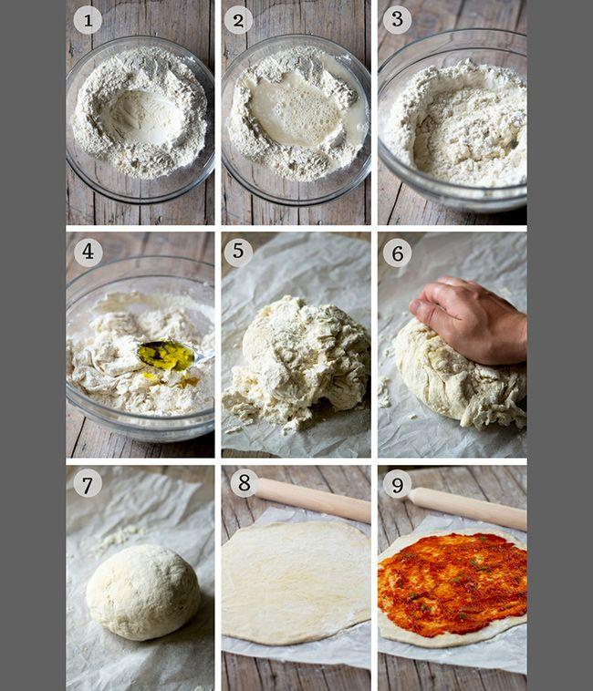 چگونه خمیر پیتزا درست کنیم؟ (فوت و فن تهیه بهترین خمیر پیتزا)