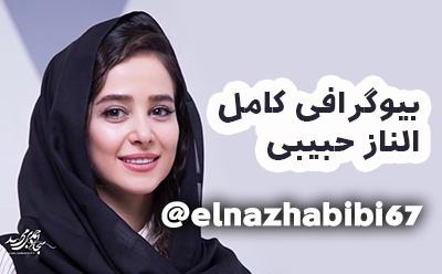 بیوگرافی الناز حبیبی و همسرش + عکس های الناز حبیبی + حواشی و اینستاگرام