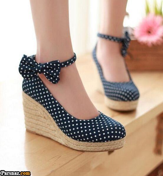 مدل کفش کتانی زنانه و دخترانه عید ۹۹ + راهنمای خرید و ست کردن کفش نوروز ۱۳۹۹