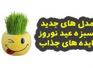 مدل سبزه عید نوروز ۱۳۹۹   ایده های جذاب برای تزیین سبزه عید ۹۹