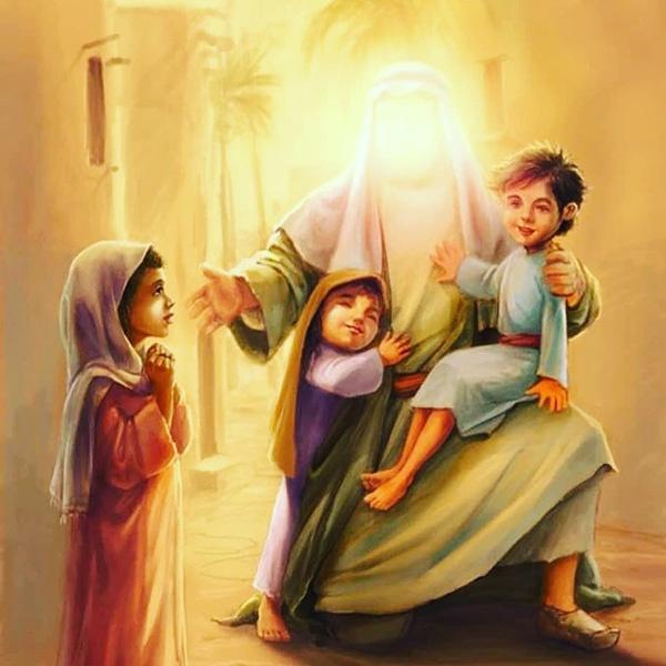 عکس و متن تبریک ولادت امیرالمومنین حضرت علی (علیه السلام) و روز پدر