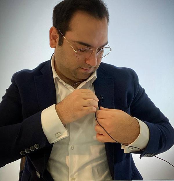 بیوگرافی امین فردین و همسرش + افشاگری ها و اینستاگرام