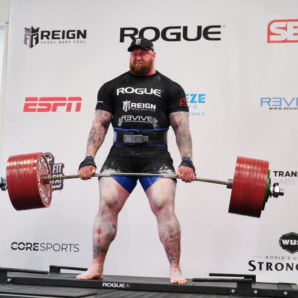 قوی ترین مرد جهان کیست ؟ thorbjornsson@ + عکس های هافثور پی یرشون