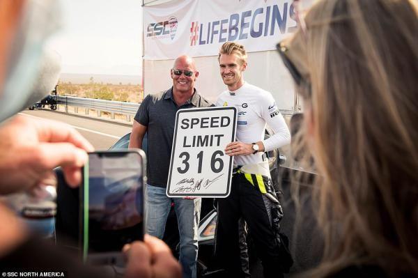 رکورد سرعت خودرو شکست | تواتارا با رکورد 509 کیلومتر برساعت