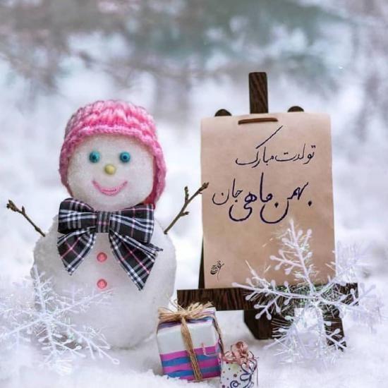 عکس نوشته های من یه بهمن ماهی ام + متن های جدید برای متولدین بهمن ماه