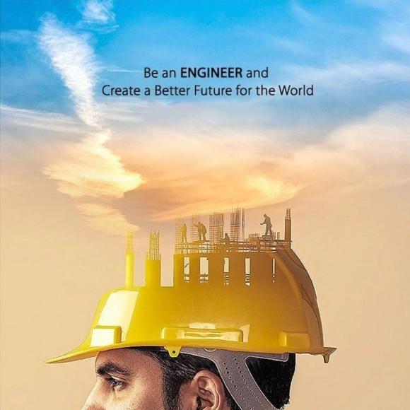 عکس و متن تبریک روز مهندس  سال 99 | عکس نوشته های تبریک روز مهندس