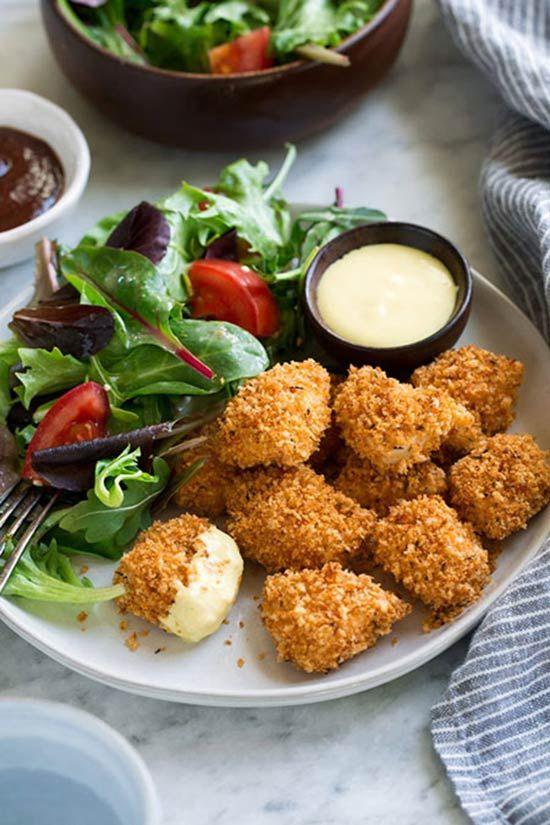 طرز تهیه بهترین ناگت مرغ رستورانی و خوشمره !