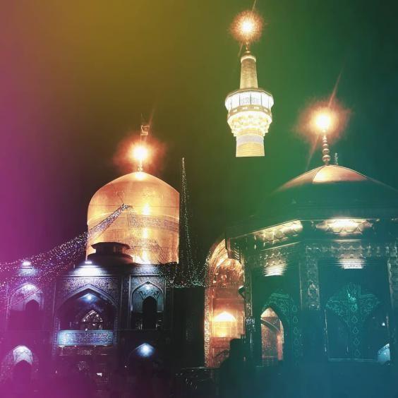 عکس و متن تبریک ولادت امام رضا (ع) ۱۴۰۰ | عکس پروفایل جدید حرم امام رضا