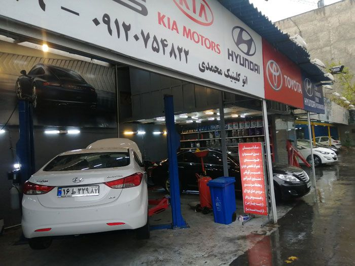 تعمیر خودرو هیوندای (بهترین تعمیرگاه هیوندای برای تمام خدمات)