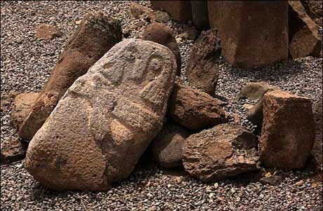 عجیب ترین گورستان تاریخی اردبیل + عکس